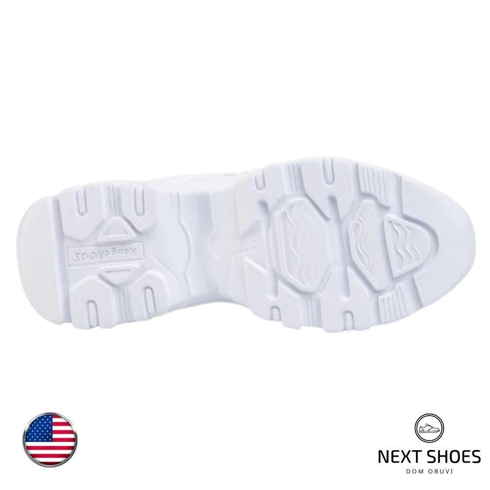 Кроссовки женские белые NEXT SHOES (США) летние арт 39146-000-0000 модель 347
