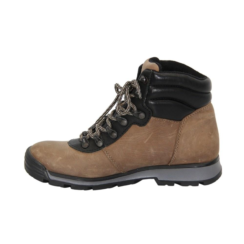 Women's beige lace-up sports boots winter NEXT SHOES (Poland) Natural nubuck, art 211-6501-7-2696-bez model 3835