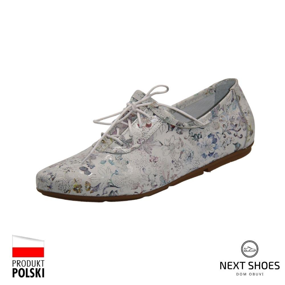 Sneakers female gray NEXT SHOES (Poland) summer art 00790-zielony model 4383