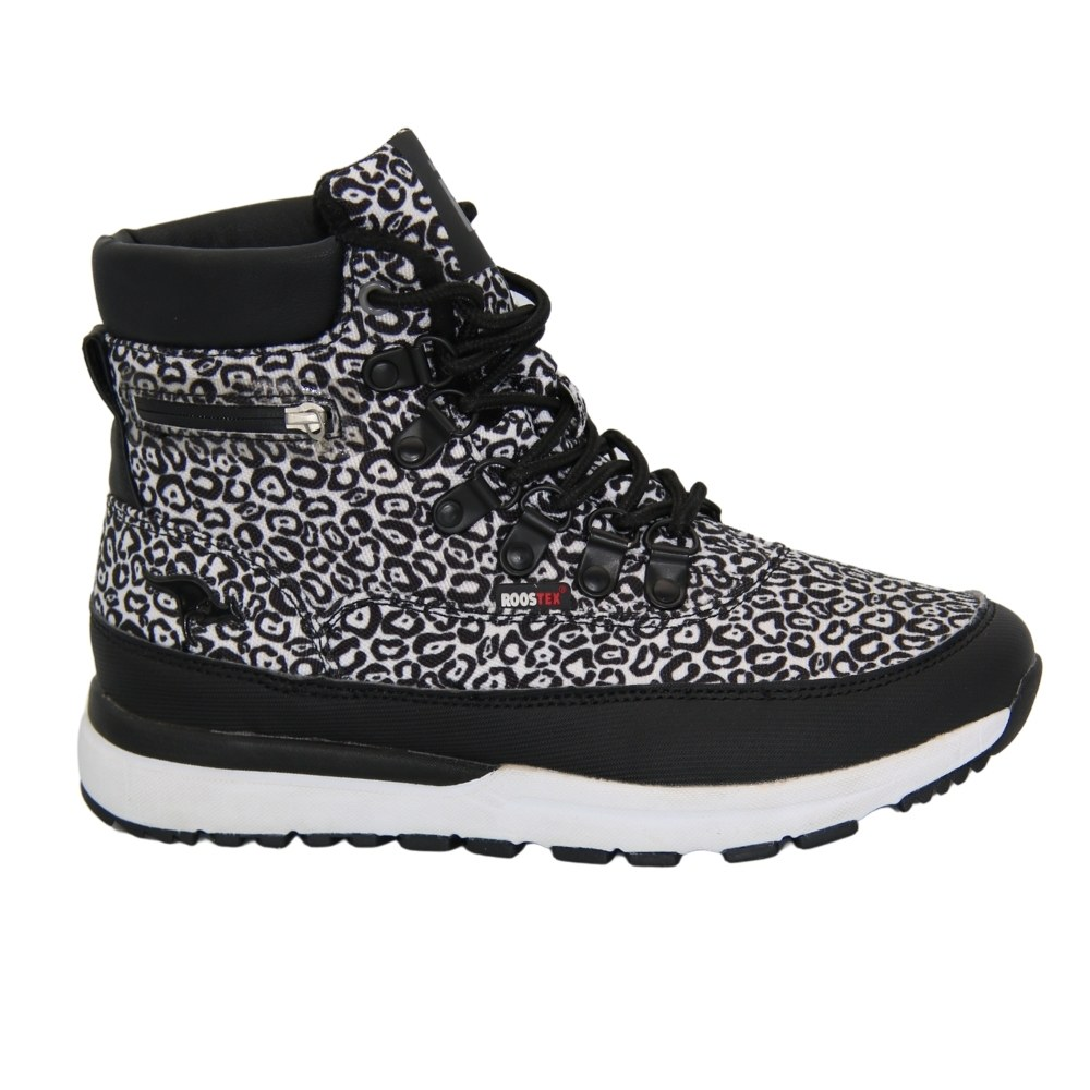 Женские белые ботинки на шнуровке зимние NEXT SHOES (США) Текстиль, арт Woodhollow Light 47183050 модель 4775