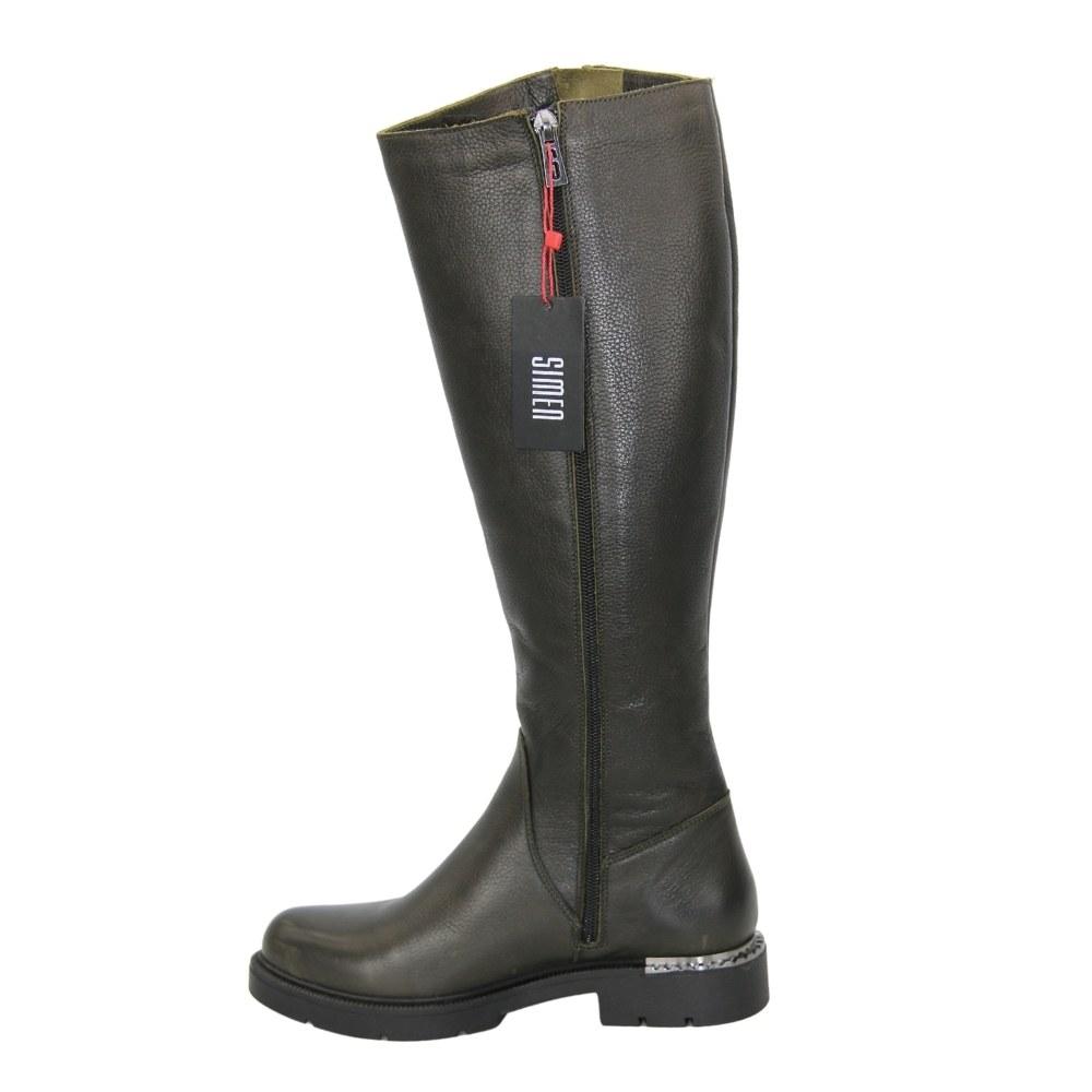 Женские черные сапоги зимние NEXT SHOES (Польша) Натуральная кожа, арт 790 модель 4823