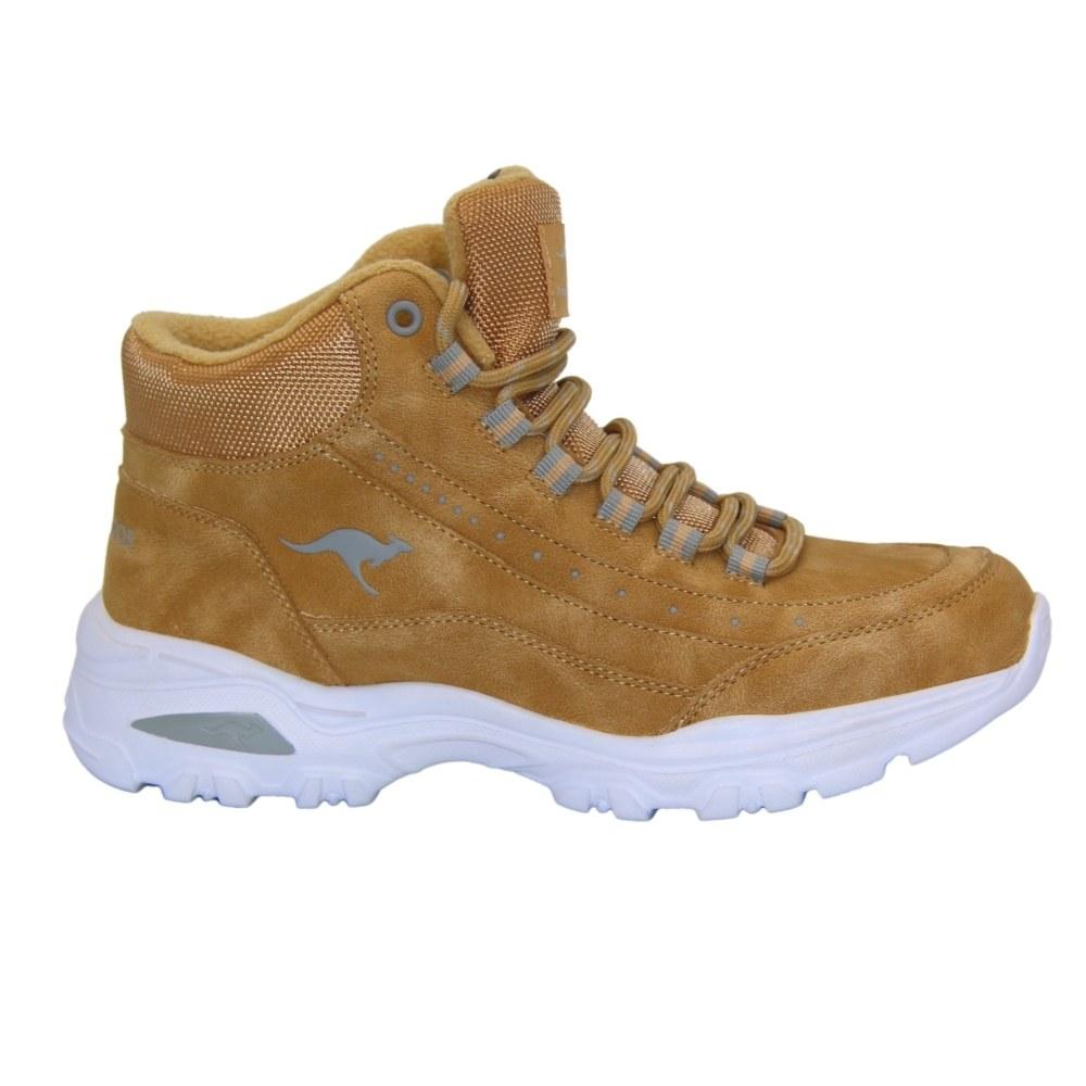 Женские бежевые ботинки на шнуровке демисезонные NEXT SHOES (США) Текстиль, арт 391720001009 модель 4827