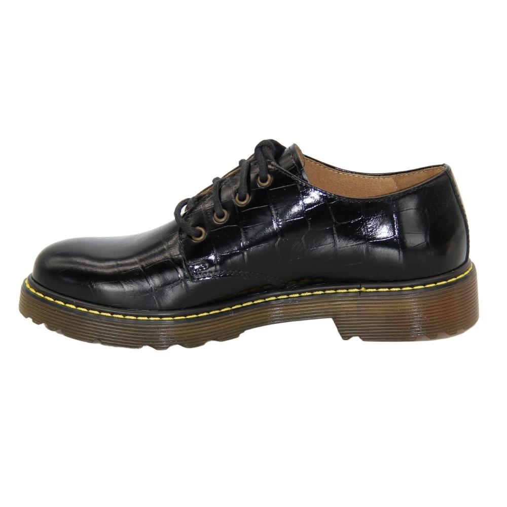 Shoes with polyurethane soles female black NEXT SHOES (Poland) demi-season art 20753 model 4844