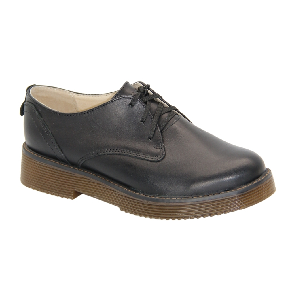 Shoes with polyurethane soles female black NEXT SHOES (Poland) demi-season art 271-4379-1-1058 model 4855
